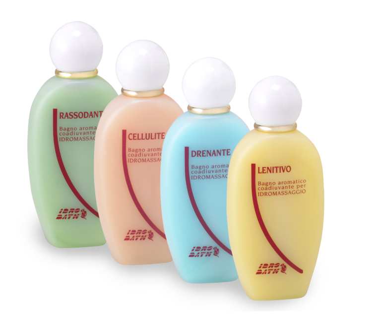 KIT ASSORTITO IDROMASSAGGIO - Bagni aromatici da 200 Ml x 4 Pz assortiti