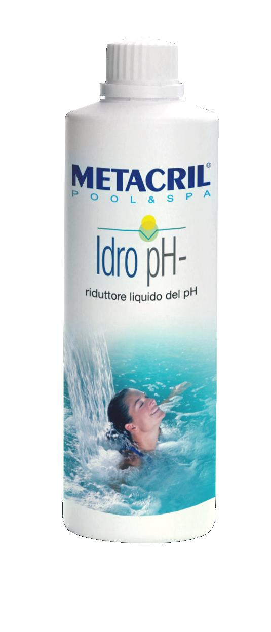 IDRO PH- 1Lt - Riduttore del Ph dell'acqua in forma liquida