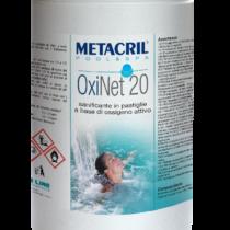 OXINET 20 - 1,2 Kg - Trattamento di mantenimento a base di ossigeno in pastiglie da 20 Gr cadauna