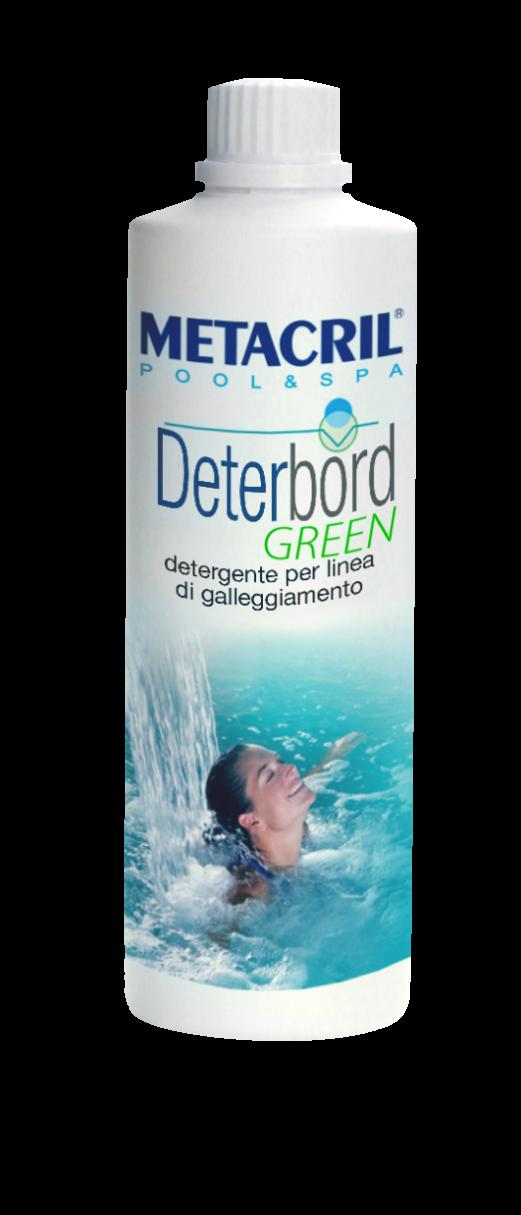 DETERBORD GREEN 750Ml - ECO Detergente e sgrassante per la superficie della SPA o Piscina