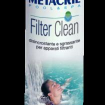 FILTERCLEAN 1 Lt - Disincrostante, sgrassante e sanificante per apparati filtranti in carta, sabbia, vetro