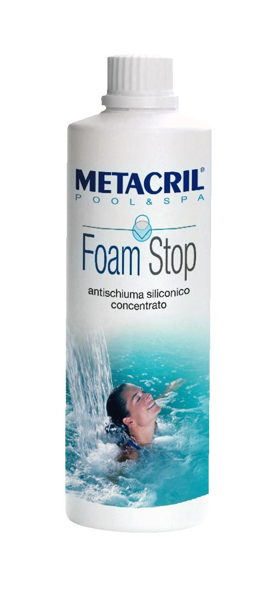 FOAM STOP 500Ml - Antischiuma siliconico concentrato per SPA e piscine