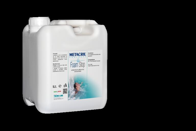 FOAM STOP 5 Lt - Antischiuma siliconico concentrato per SPA e piscine