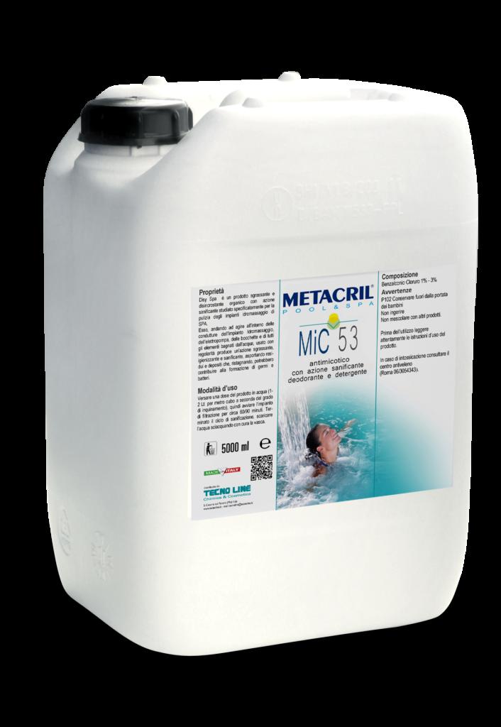 MIC 50 10Lt - Antimicotico concentrato per superfici o per immersione (bordo piscina, vasche lava piedi ecc. ecc.)