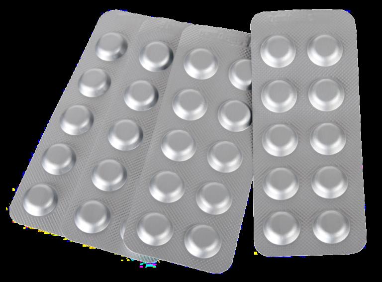Pastiglie per la ricarica di tester DPD1 (cloro-bromo) DPD4 (ossigeno-bromo) Phenol Red (PH) Confezione 250 pastiglie