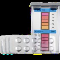 TESTER PH/BROMO/OSSIGENO - Tester in pastiglie per la misurazione di Ph, Bromo e Ossigeno