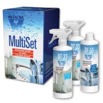 MULTISET DOCCIA - Kit assortito per la pulizia e manutenzione di Cabine attrezzate - Multifunzione