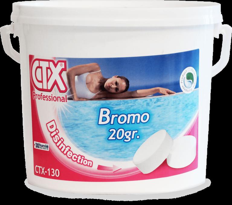 CTX-130 Bromo per Piscine 5 Kg
