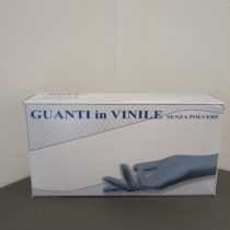 Guanti in vinile senza polvere confezione da 100 pz