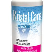 KRISTAL CARE - 500ml Detergente ad azione brillantante per superfici vetrate, porte e arredi.