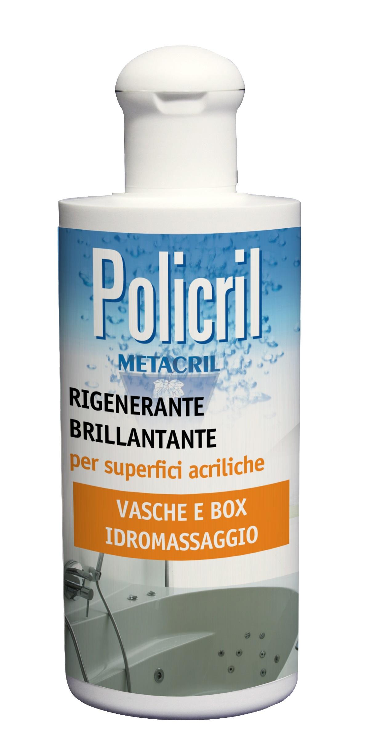 POLICRIL - 200ml Cera rigenerante per superfici acriliche