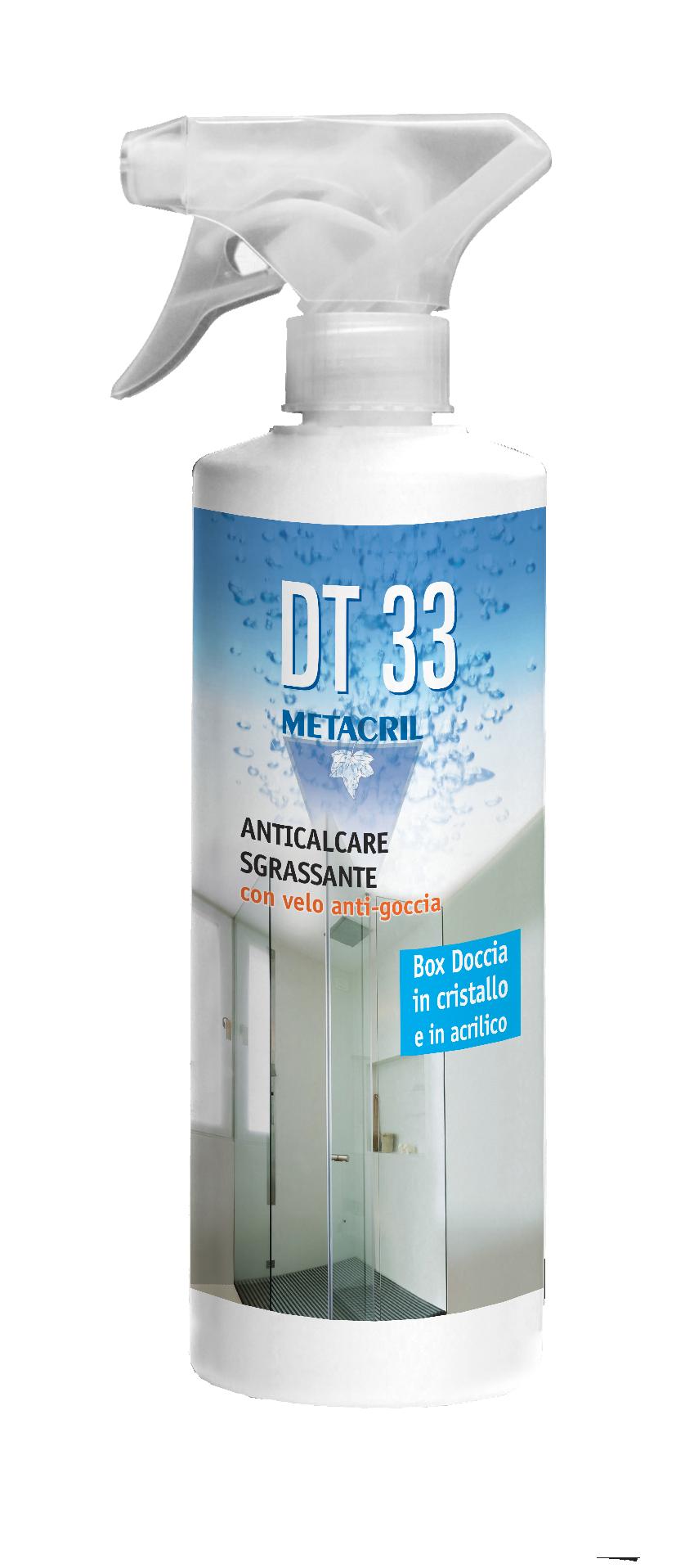 DT33 - 500 ml Detergente antigoccia protettivo con azione anticalcare