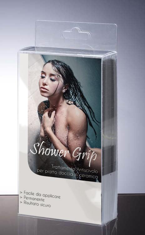 Shower Grip 50ml x 2 - Trattamento antiscivolo per piatto doccia in ceramica