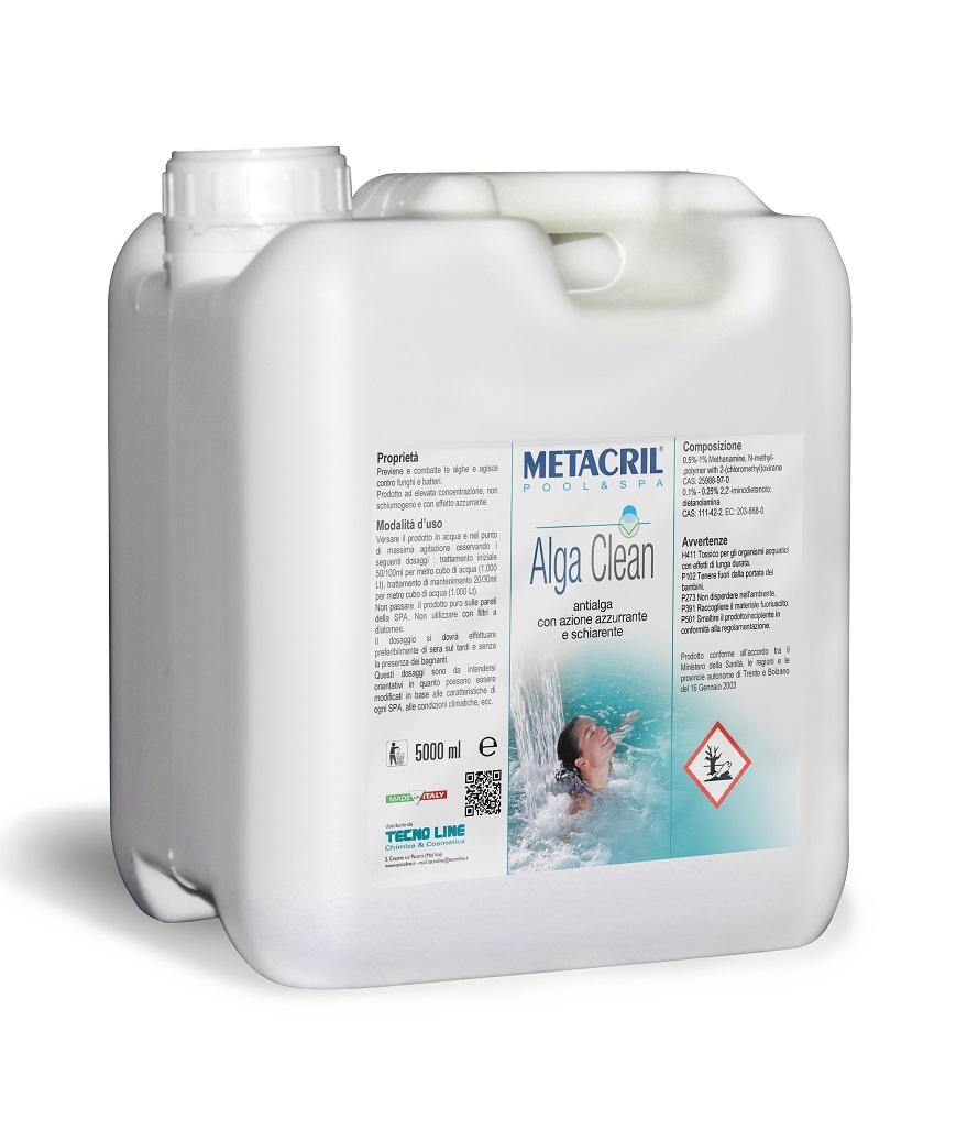 Alga Clean Plus 10 Lt - Antialga concentrato,azzurrante e schiarente