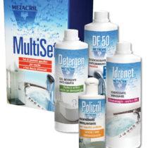 Multi Set Idromassaggio-Set di prodotti assortiti per vasche idromassaggio